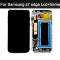 100% testado no dead pixel para samsung galaxy s7 edge g935fd g935f display lcd com tela de toque digitador assembléia + quadro