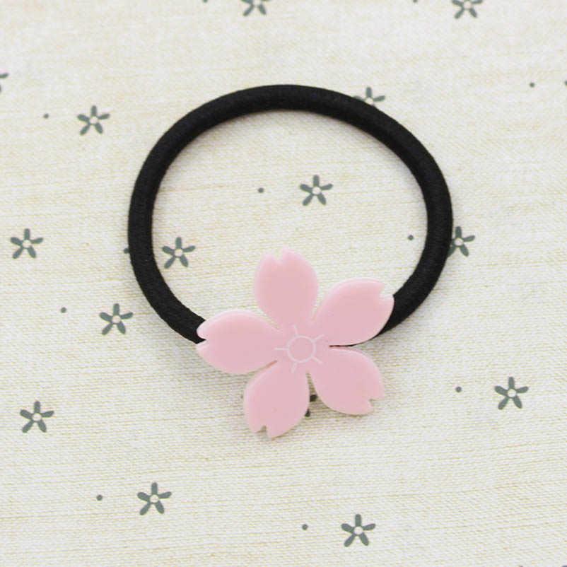 Merah Muda Bunga Akrilik Bobby Pin BB Klip Rambut Klip & Pin Hiasan Kepala Aksesoris Rambut untuk Wanita dan Anak-anak