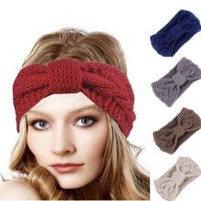 Cable Knit Headband Handmade Crochet Head Warmer Hair Band