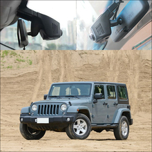 BigBigRoad For Jeep sahara Liberty Compass 2015 patriot Car Wifi DVR Video Recorder FHD 1080P night vision Black Box Dash Camera