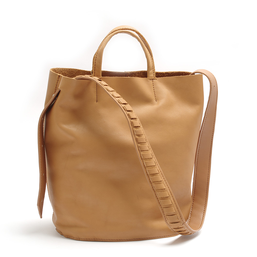 2018 New Arrival Soft cow Leather Bucket Bag Fashion Designer Women Shoulder Bag Large Capacity Genuine