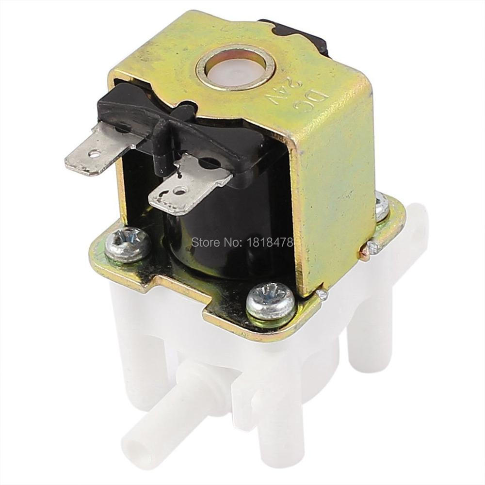 DC 24V 1A Low Pressure Inlet Water Feed Solenoid Valve for 6.5mm PipeDC 24V 1A Low Pressure Inlet Water Feed Solenoid Valve for 6.5mm Pipe