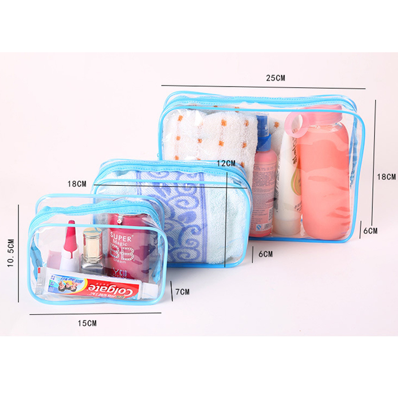 necessaries Makeup organizer Toiletry bag for women men Travel kits make up Cosmetic Bags organizador de maquiagem