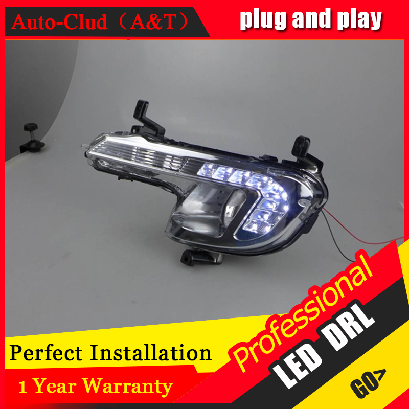 Auto Clud car styling For peugeo 508 LED DRL For 508 led daytime running light High brightness guide LED DRL