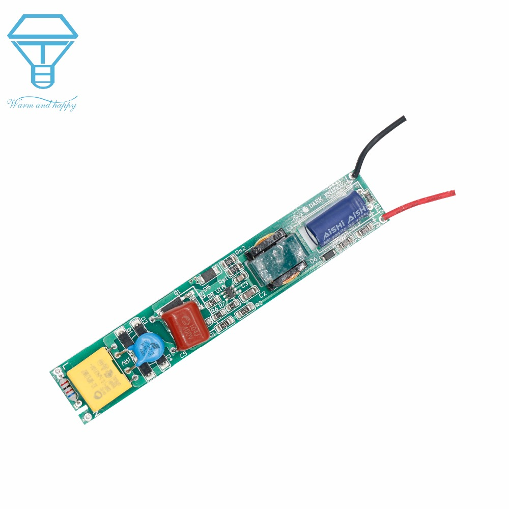 Led Driver 9w 18w Power Supply Constant Current 75ma 150ma Automatic Efficiency 7w Drivers 7wled Circuit Diagram 8w For Tube T5 T8 Ac220v Voltage