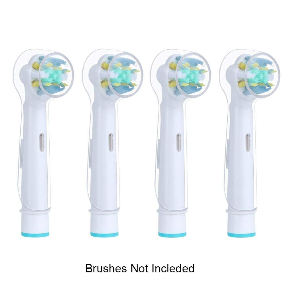 Oral B Zahnbürstenhalter Us 85 30 Off Replacement Brush Head Protection Cover For Oral B Electric Toothbrush 2 4 6 Pieces Toothbrush Heads Hygienic Protective Covers In