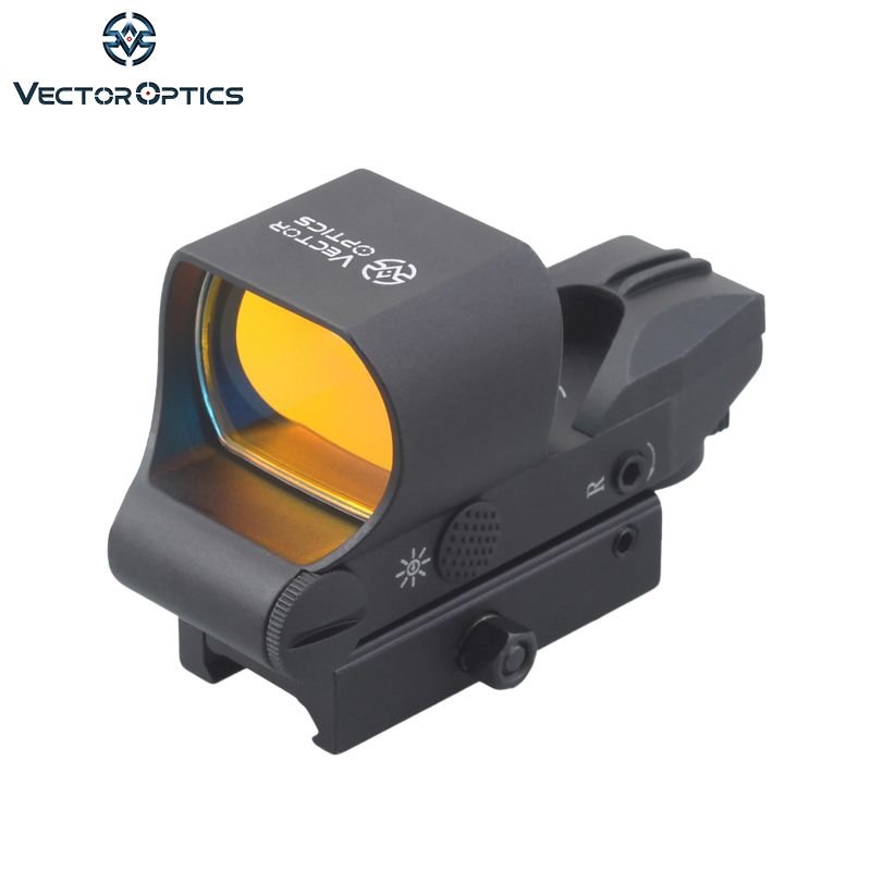 Vector Optics Ravager 1x28x40 Rifle Red Dot Portée 4 Réticule Reflex Sight avec 20mm Weaver base