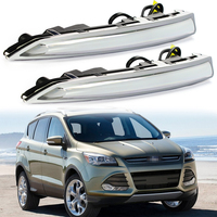 2pcs High Quality Car Styling New LED DRL Daytime Running Lights For Ford Kuga 2013 2014