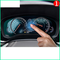 lsrtw2017 tpu car dashboard screen protective film for bmw F30 F31 F34 F32 F10 F11 F07 X3 X4 F25 F26 X5 X6 F15 F16 x1 f48 G30
