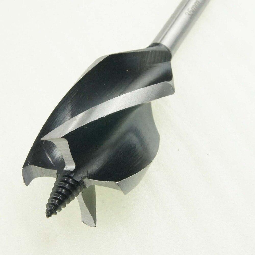 8 pc set 4-flute Speedbor vitesse max foret 16 à 35mm charpentier menuisier outils