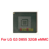 2pcs Lot For LG G3 D855 EMMC 32GB With Firmware Programmed NAND Flash Memory IC Chip