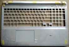 Новый для Sony Vaio Fit SVF15 SVF152 SVF153 английский США palmrest Клавиатура ноутбука верхний чехол C Shell с тачпадом