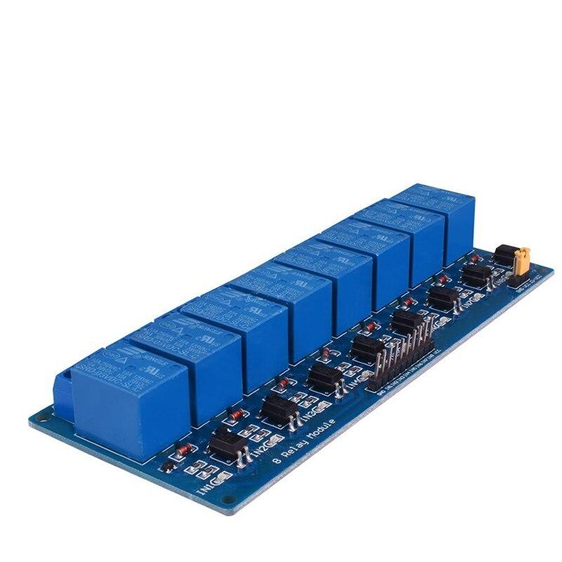 Smart electronics v eight channel relay module board