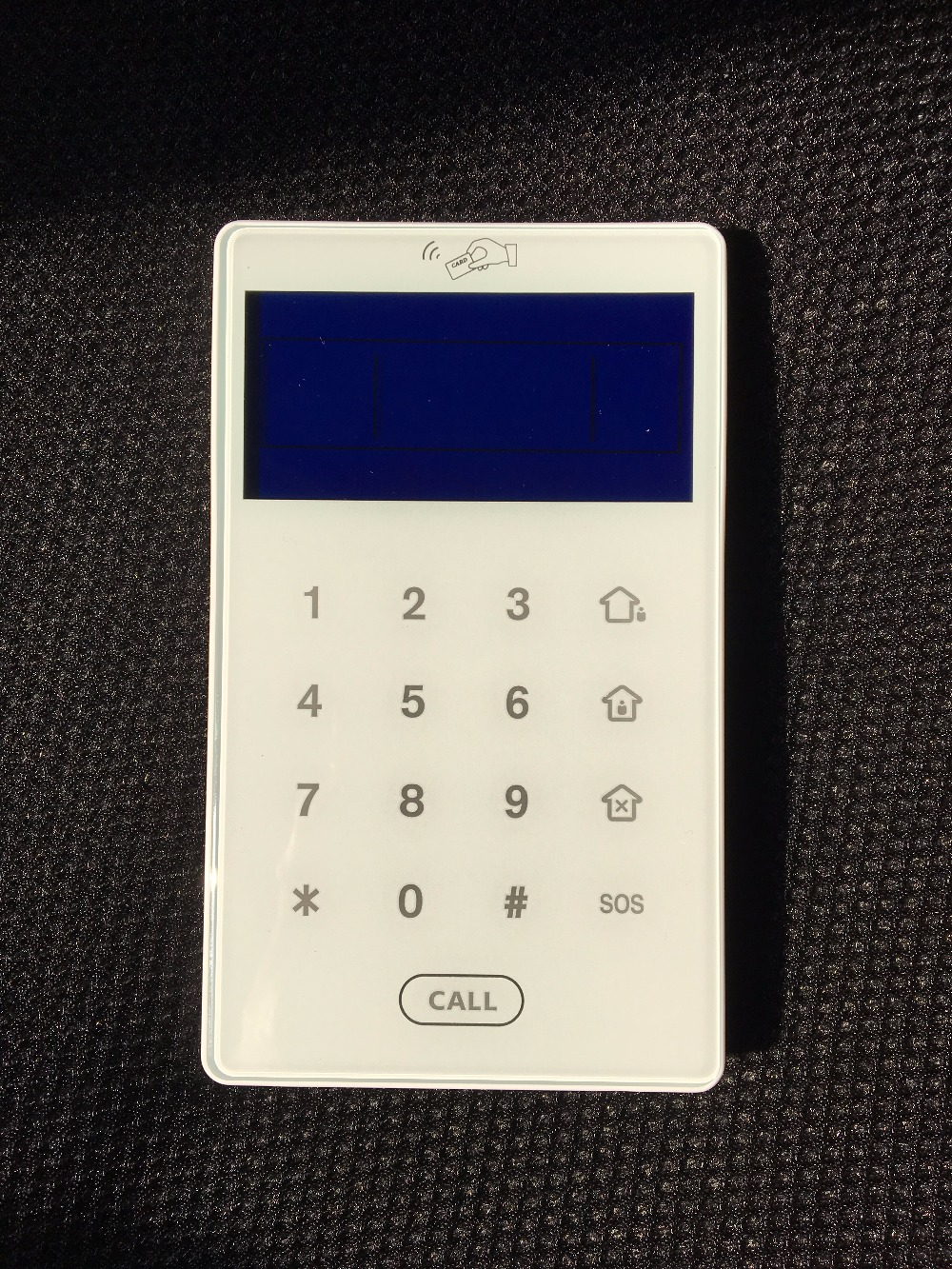 433mhz MeiAn PB-503R Wireless RFID Reader LCD Keypad RFID keypad for MeiAn series alarm host arm/disarm pb 502r nice design 868mhz two way keypad with lcd backlight remote arm disarm 868mhz alarme maison