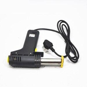 Image 4 - Griff Elektrische Eisen kuchen mark heißer Folie Stempel drücken präge maschine Druck logo Branding elektrische lötkolben 500W 220V