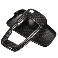 1 Set Carbon Fiber Remote Key Cover Holder Case Skin Shell 3 BTN For Audi A1