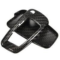 1 Set Carbon Fiber Remote Key Cover Holder Case Skin Shell 3 BTN For Audi /A1 /A3 /A4 High Quality