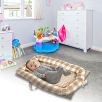 Newborn Baby Crib Foldable Infant Nest Bionic Bed Sleeping Artifact Baby Nest Bed Toddler Nest With Pillow For Travel Car Floor