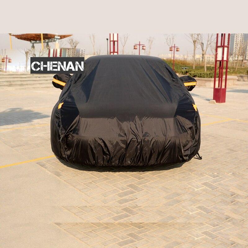 190 T polister Camouflage imperméable bâches de voiture protection solaire extérieure poussière pluie neige protection suv berline hayon bâche de voiture