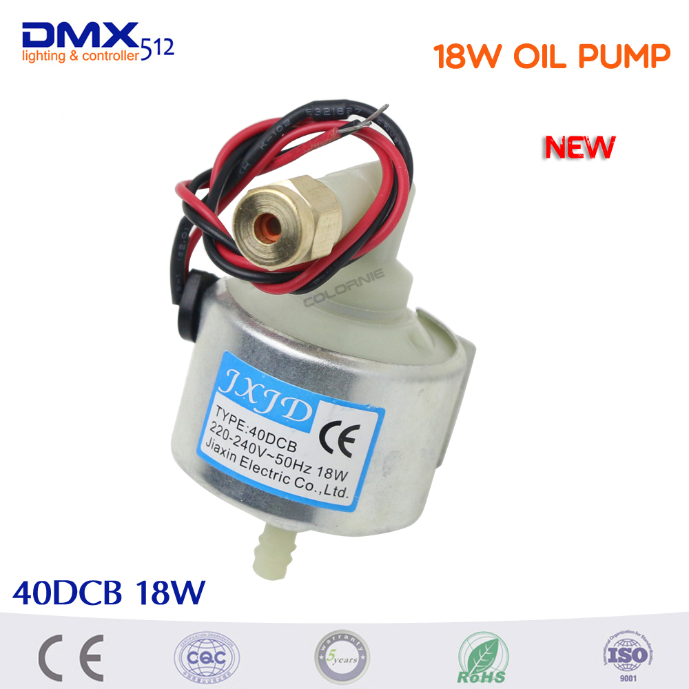 Promotion!!  40DCB 18W Oil Pump 400w 600w 900w Smoke Machine Dj Equipment Professional Stage Oil Pump