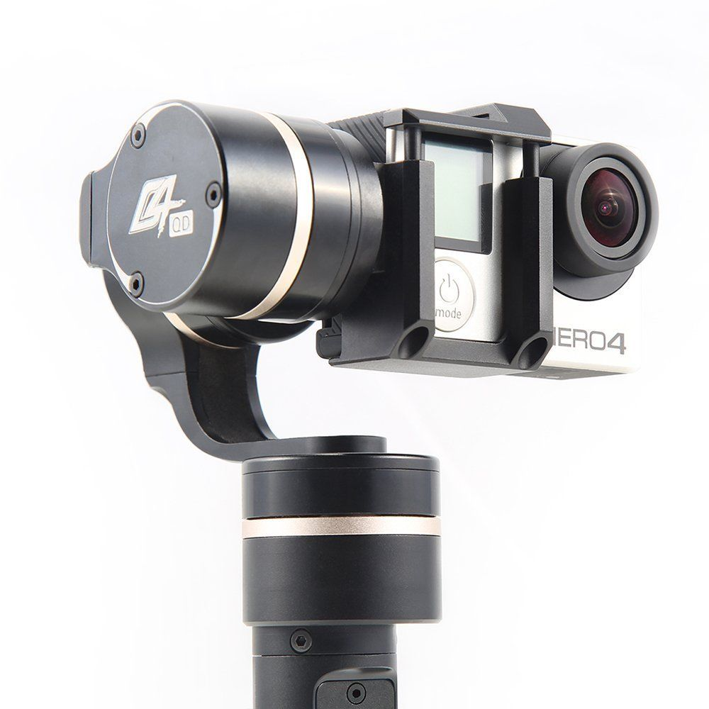 Feiyu Tech G4-QD Quick Dismantling 3-Axis Gimbal for Gopro hero 3/3+/4, AEE, SJ, xiaomi and others sports cameras fit Hero 5 Se