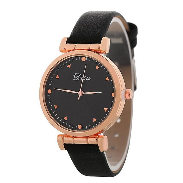 אופנתי טמפרמנט 2018 יד נירוסטה נשים של קוורץ שעון יפה פשוט ומזכרות עסקים גבירותיי שעוני יד # D
