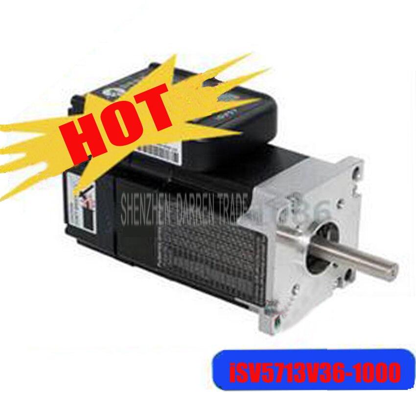1PC Hot 130W servo motor ISV5713V36 1000 Servo Motor 3000 RPM Rated Speed CNC save place encoder 1000 line