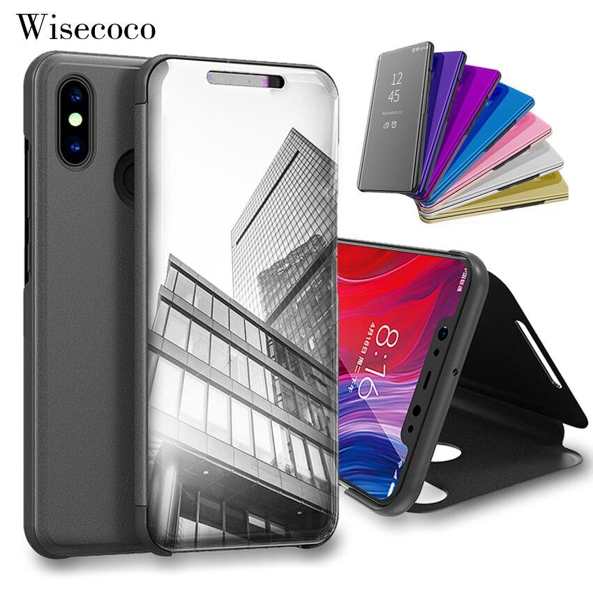 Flip Stand Touch Case for xiaomi Mi max 3 8 Se 6 6x 5x A1 A2 lite 5c Mix 2 POCOPHONE f1 Redmi s2 y2 6a Note 5a 4 4x 5 6 Pro plus