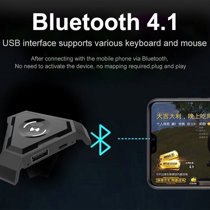 Details about Sovawin PUBG Mobile Gamepad Controller Gaming Keyboard Mouse  Converter For