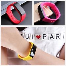 TTLIFE Brand Call Message Reminder Fashion Casual Digital Bracelet Alarm LED Relogio Feminino Wristwatches Men Women Smart Watch