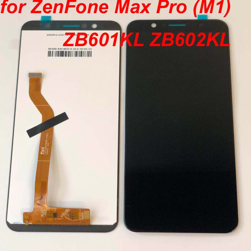 "HTB1Jwmndi6guuRjy1Xdq6yAwpXaW No Dead Pixel 5.99""LCD Display For Asus ZenFone Max Pro (M1) ZB601KL ZB602KL Touch panel glass Screen Digitizer assembly+Frame"