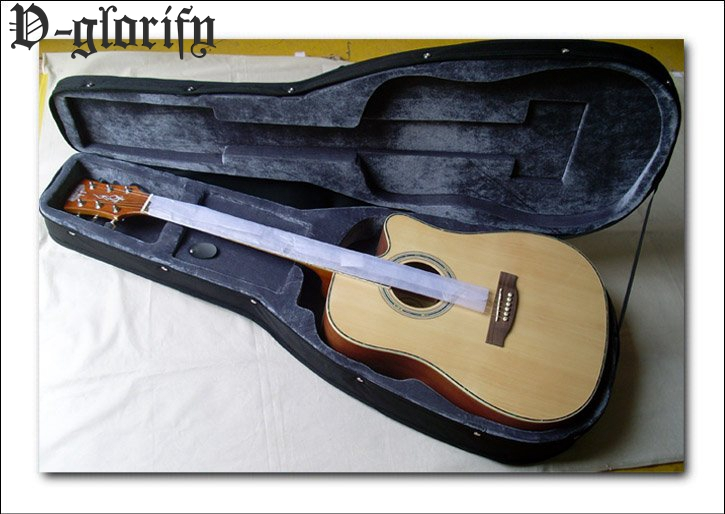 guitar hard case for acoustic or electric guitar 41inch серьги silver wings 22ae6134e20 r 148