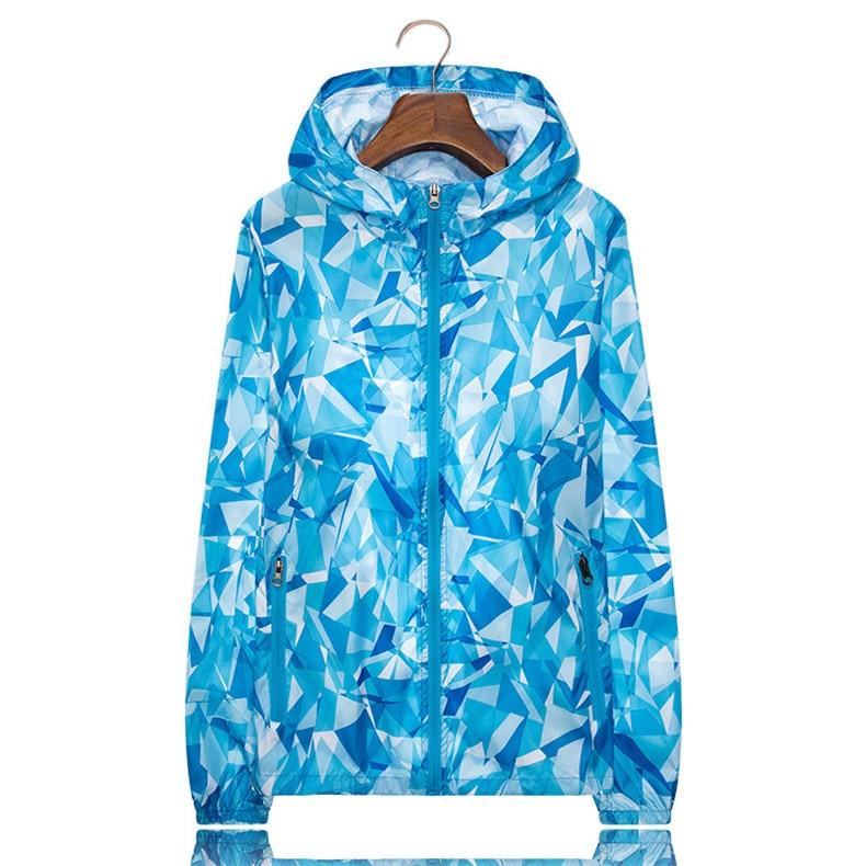 Couple Windbreaker Jackets Women Men Spring Summer Unisex Coats Women Plus Size Casual Sunscreen Clothing Ultrathin Rainproof 15