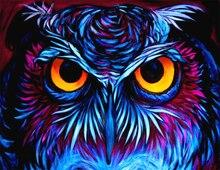 5D DIY Diamond Painting Owl Full Square  Embrodiery Sale Animal Rhinestones Mosaic Cross Stitch Kits
