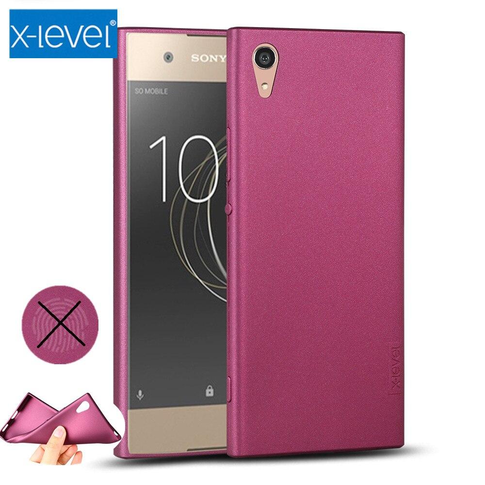 X-Level Guardian Soft Matte TPU Case for Sony Xperia XA1 XA2 XA XA3 Ultra Cover for Sony Xperia XZ1 XZ2 XZ3 Z3 XZ Silicone Case