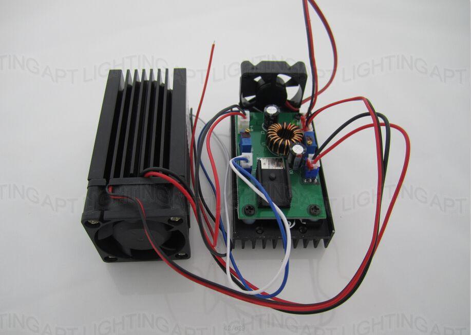 PRAVO NOVO 3500mw / 3.5w 445 modra oderna luč RGB laserski modul / - Komercialna razsvetljava - Fotografija 4