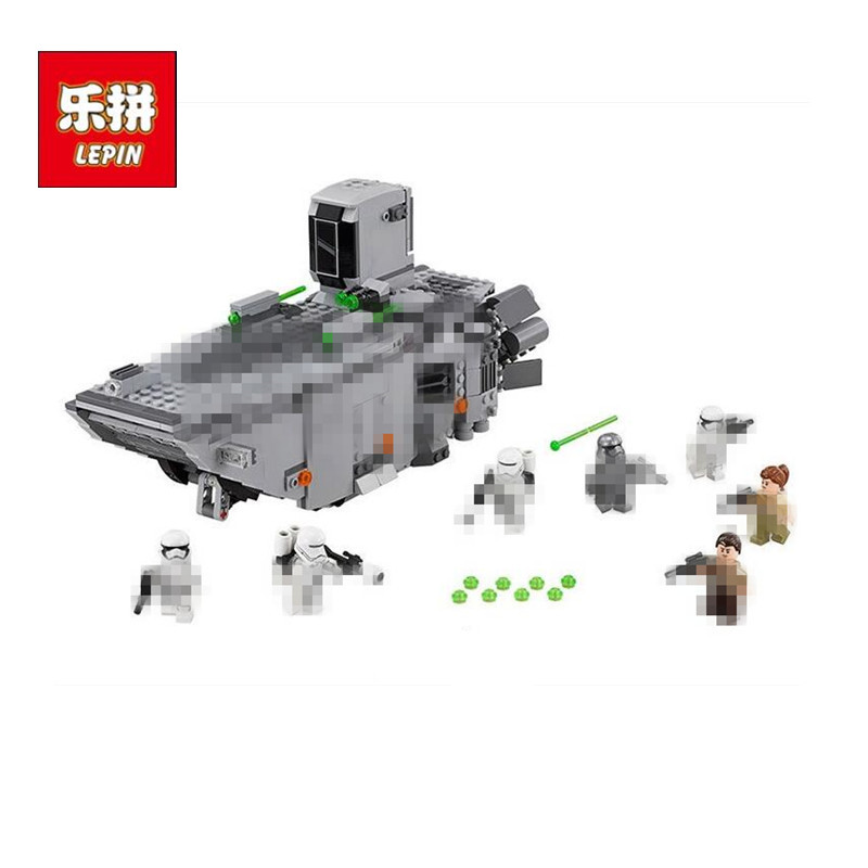 2017LEPIN 05003 Stars serie Wars First Order Transporter DIY Building Block set kids model Brick Toys Gift Compatible With 75103 lepin 22001 pirate ship imperial warships model building block briks toys gift 1717pcs compatible legoed 10210