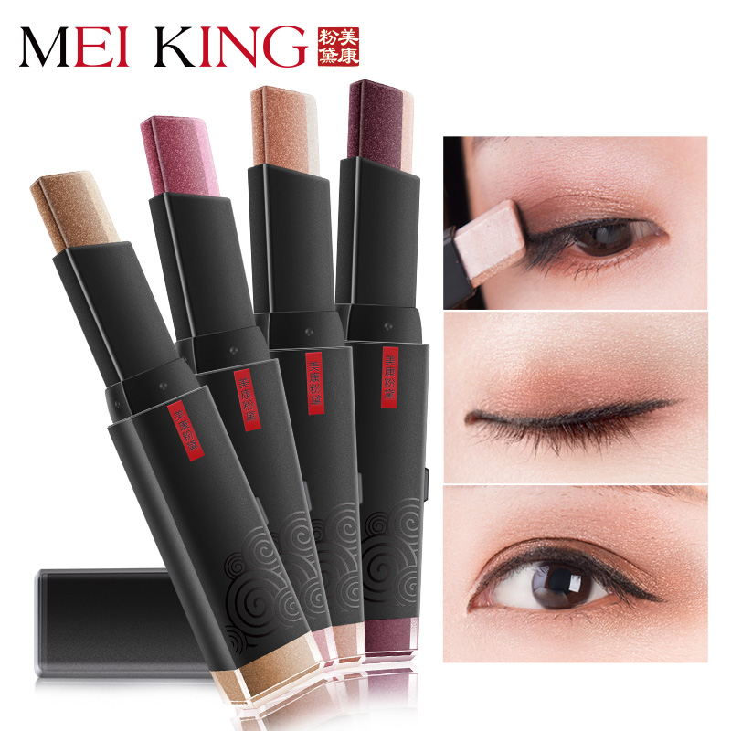 MEIKING Pensil Eye shadow Glitter Kosmetik Waterproof Shimmer Shine Mencerahkan kosmetik Mattte Make Up tahan lama