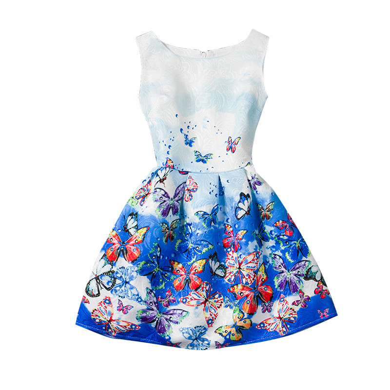 74b54598edb2 Fashion Girls Summer Dress 2018 Teenagers Girls Party Gowns Dress Age Size  6 7 8 9 10 11 12 Year Birthdays Princess Dresses-in Dresses from Mother    Kids on ...
