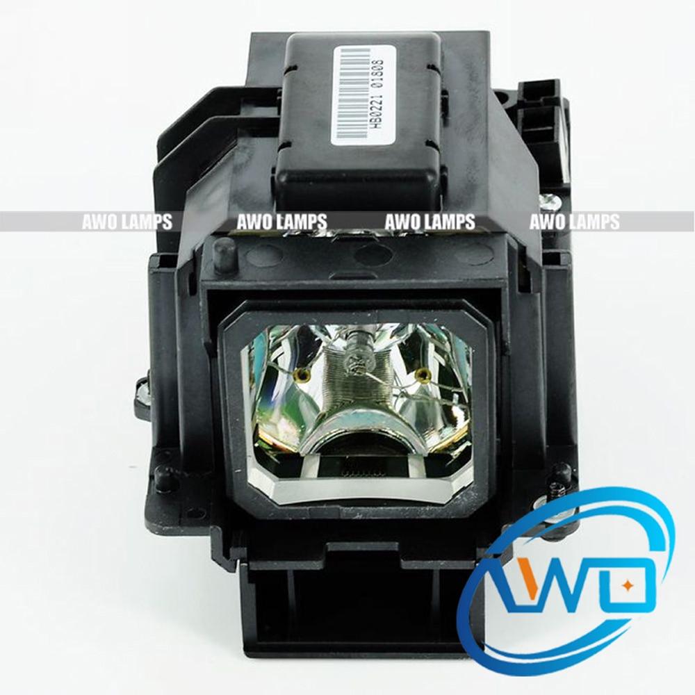 AWO Projector Lamp VT70LP / 50025479 with Original NSH Bulb Inside for NEC VT37/VT47/VT570 Projectos awo compatibel projector lamp vt75lp with housing for nec projectors lt280 lt380 vt470 vt670 vt676 lt375 vt675