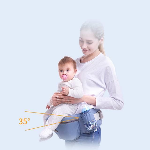 Mochila portabebés ergonómica canguro frontal