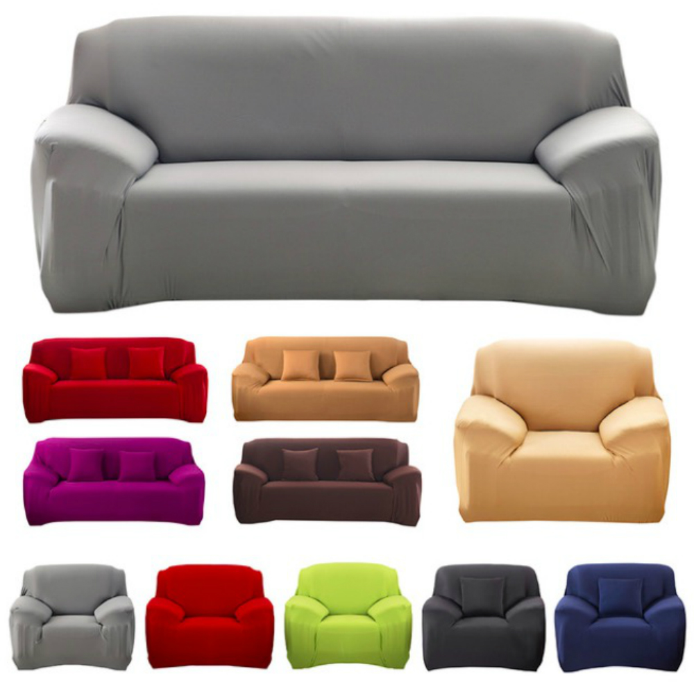 Lovely Solid Single-seat / Double-seat / Sectional  Sofa Cover funda sofa sofa-slip cover capa de sofa canape free shipping