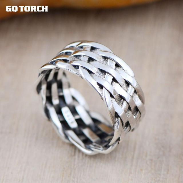 two tone r mens men custom s band wedding rings braided