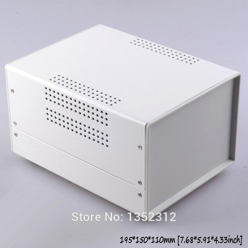 Un pcs 195*150*110mm fer boîtier électronique instrument cas boîtier électronique de la boîte de distribution contrôle boîte de jonction cas