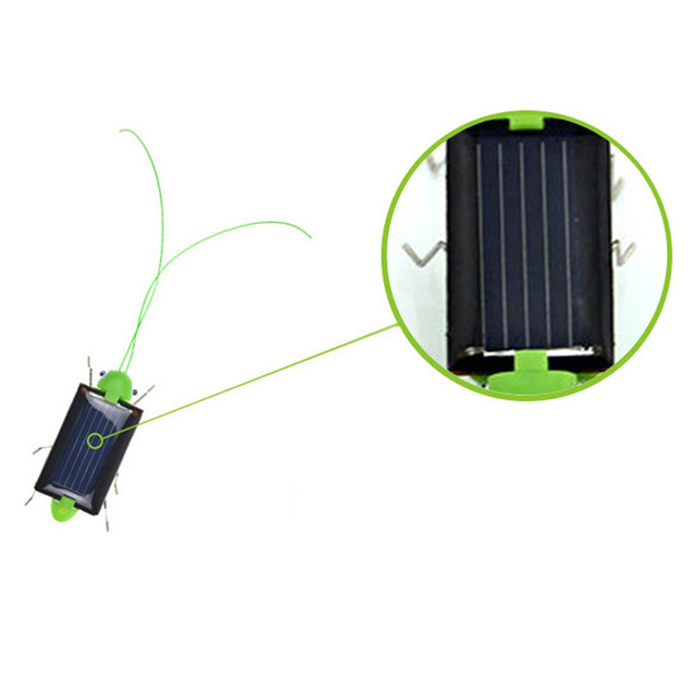 2018 Solar grasshopper Educational Solar Powered Grasshopper Robot Toy    required Gadget Gift solar toys No batteries for kids 3