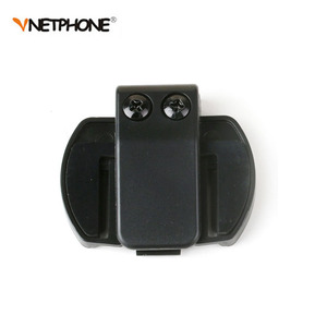 Image 4 - 2PCS 3.5MM EJEAS V6 V6 Pro Accessories Earphone Speaker Microphone Clip For Vnetphone V4/V6 Motorcycle Helmet Bluetooth Intercom