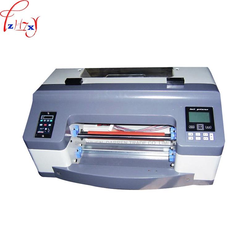 A3 Size 300mm Digital Hot Foil Stamping Machine Semi-Automatic Digital Label Printer  Flatbed Printer 1pc