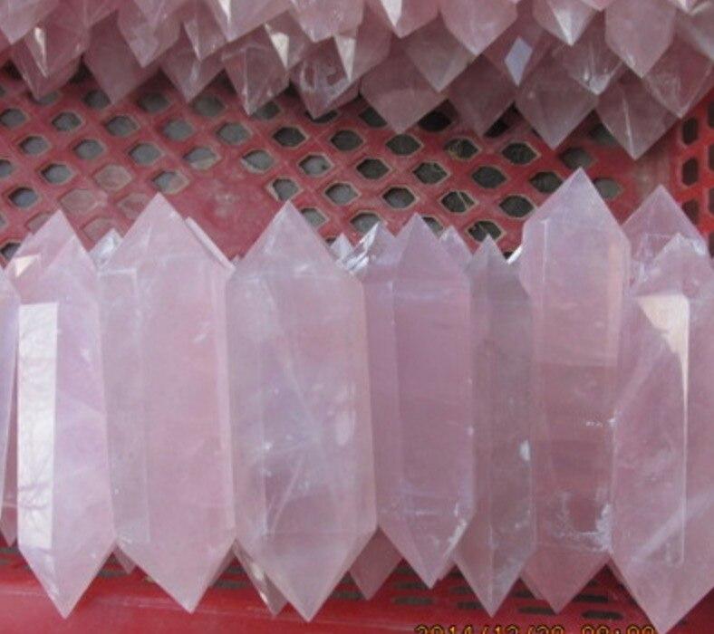 36 natural beautiful rose crystal quartz point healing top 572 natural smoky citrine quartz crystal point healin b2