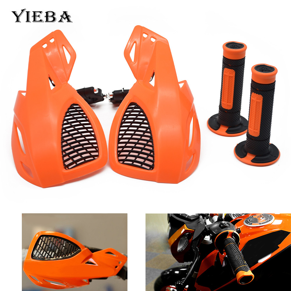Motorcycle Handle Handguard Handlebar Rubber Handle Grip For KTM ADVENTURE 1050 RC125 125 Duke RC8 SupeR AdventuRe 1290