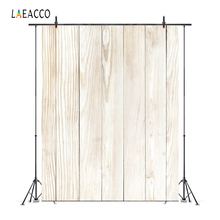 цена на Laeacco Wood Board Plank Texture Portrait Baby Photography Backgrounds Customized Photographic Backdrops For Photo Studio